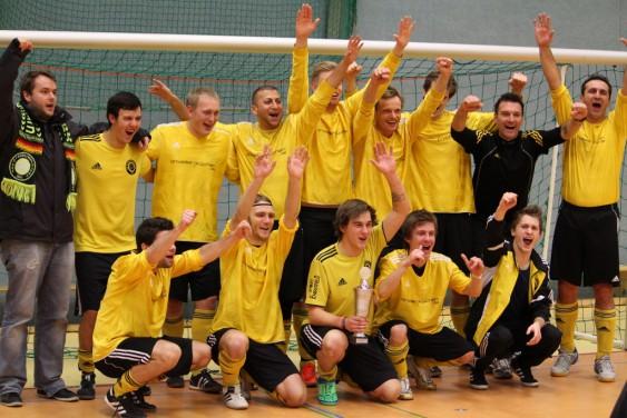 Titelverteidiger und Sieger 2013 der SSV Stockum II