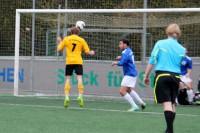 Marcel Linke köpft zur 1:0-Führung ein