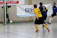 Grazian Schwoch, bester TuS Torschütze im RWE WinterCup 2015
