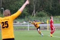 Sebastian Winkelmann traf im Hinspiel per Flugkopfball