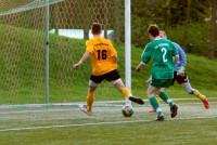 Kevin Norek trifft zum 2:0 gegen den TuS Vosswinkel II