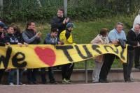 Einige Zuschauer suchten am Sonntag den Weg nach Niedereimer