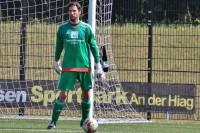 Andreas Hoppe feierte am Sonntag Heimspiel-Debüt.