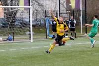 Kai Oberreuther trifft zum 1:0.
