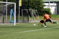 Grazian Schwoch trifft beim 6:0 gegen den FC BW Gierskämpen.
