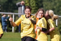 Britta Dransfeld traf im Hinspiel gegen den SV Bachum/Bergheim.