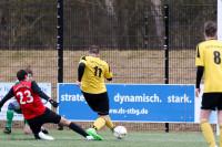 Einschuss bereit: Sebastian Bunsen der oben aushalf und gute Leistung zeigte.