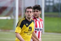 TuS-Mittelfeldspieler Rainer Müller feierte sein Comeback und spielte erstmals seit dem 8. Spieltag.