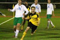 Marius Klocke trifft in letzter Sekunde der Pokalpartie.