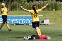 Bettina Hübert und Pia Lillpopp treffen gegen Soest