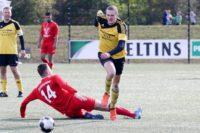 Ingo Renk feiert nach monatelanger Verletzungspause sein Comeback in der TuS-Reserve.