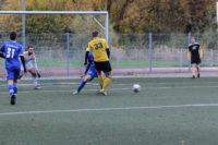 Nach Marvin Weber´s Querpass auf Kai Oberreuther entschied der Schiedsrichter auf Abseits.